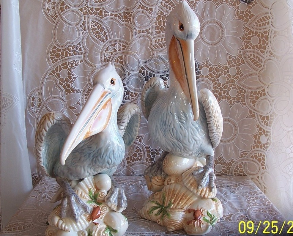Primary image for Fitz and Floyd Seaboard Pelican Figurines Pair