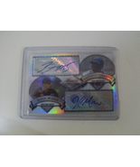 Bowman Sterling Lastings Milledge John Maine Autograph Auto New York Mets - $5.00