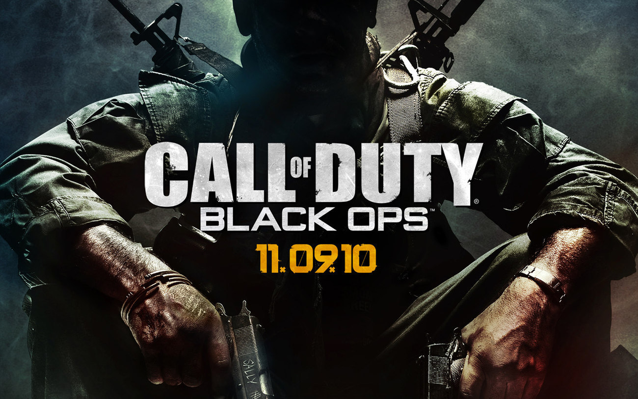 Call of Duty: Black Ops Poster, from PS3 Xbox 360 Activision
