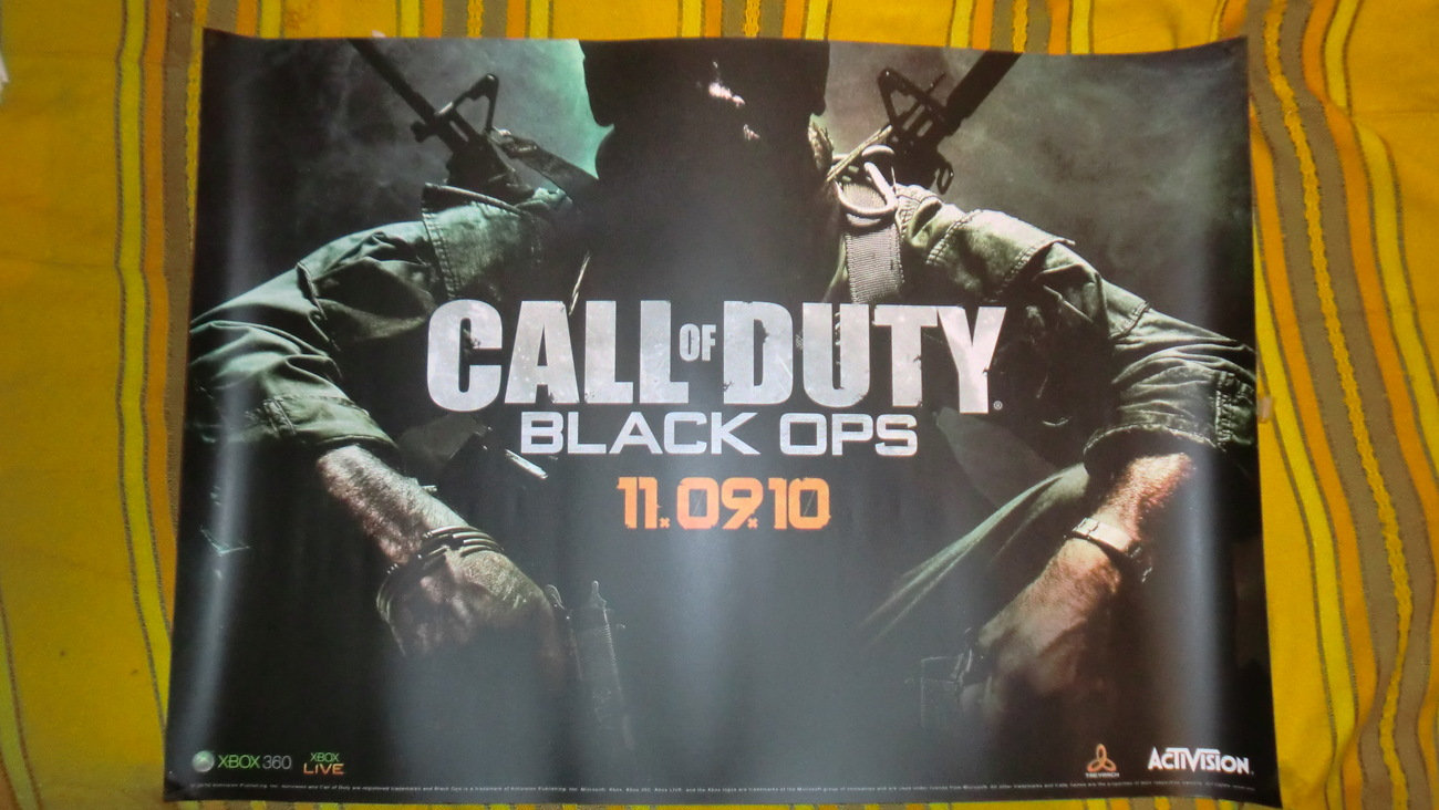 Call of Duty: Black Ops Poster, from PS3 Xbox 360 Activision image 2