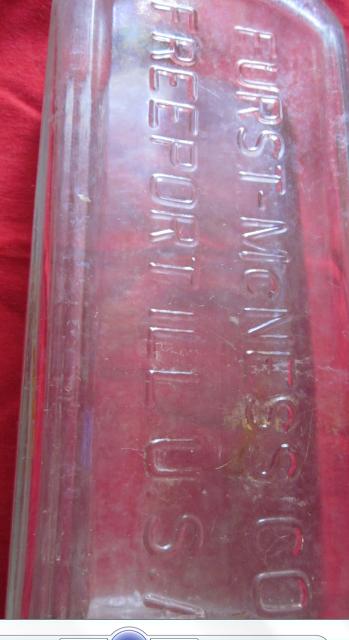 Vintage Furst-McNess Medicine Bottle