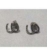 Horseshoe Earrings by Kabana Equestrian Collect... - $19.00