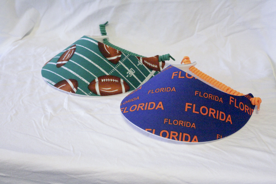 Foam Sun Visor - Are you ready for some Gators Football Set!