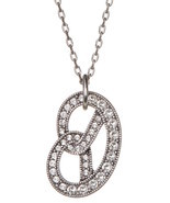 Marc Jacobs Necklace Long Pave Pretzel NEW - $74.25