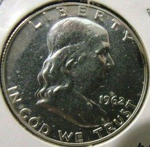 1962 Franklin Half Dollar - Proof - $19.80