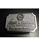 Belt buckle black and decker square  chrome colored 01 thumbtall