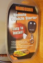 BULLDOG SECURITY RS82 REMOTE VEHICLE STARTER System DIY New NIP - $80.69 CAD