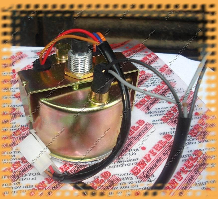 BN Royal Enfield Bullet Speedometer Black MPH/KM Speedo