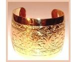 2 wide gold cuff bracelet thumb155 crop