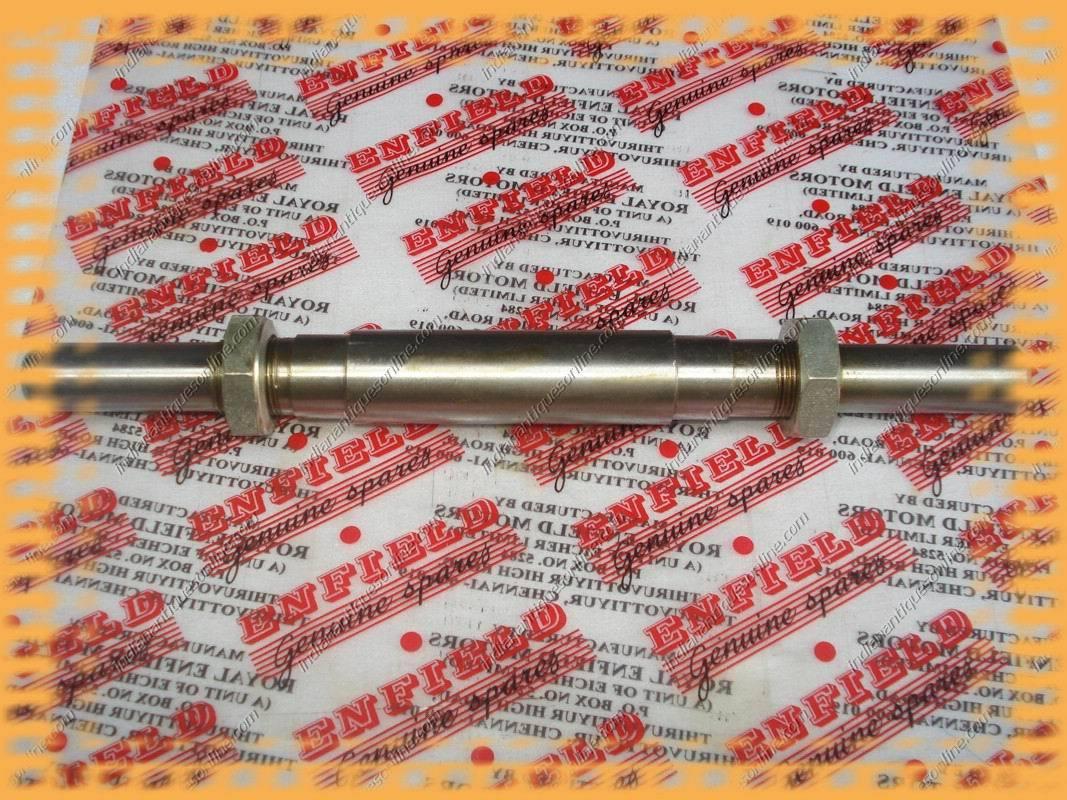 Royal Enfield Bullet Front Wheel Spindle Kit #144293 BN