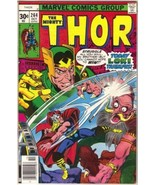 The Mighty Thor Comic Book #264 Marvel Comics 1977 FINE+ - $4.75