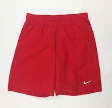 Nike Laser Woven III Soccer Short Mesh Liner Men's L Red 725904 Football - $28.22