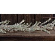 Vintage Goose Feather Pine Christmas Garland Mantel Door Holiday Decor - $34.64
