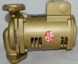 Bell Gossett Bronze Booster Pump 1/12 HorsePower 115V Bearing System image 2
