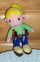 "Bob Builder Hard Working Gal Plush 9"" Wendy Wears Tool Belt Full of Soft... - $5.99"