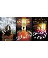 JK Rowling Robert Galbraith CORMORAN STRIKE Series PAPERBACKS 1-3 Show o... - $46.99
