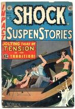 Shock SuspenseStories #111953-EC violent Johnny Craig cover VG - $105.54