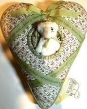 "Boyds Home ""Heart Pillow w/Sentiment Ribbon"" #811066- New- 2004 - $29.99"