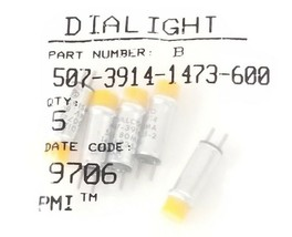 BAG OF 5 NEW DAILIGHT 507-3914-1473-600 INDICATOR LAMPS 50739141473600