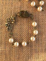 """""""Cinnamon """"  Pearl Bracelet And Earrings  - $45.00"""