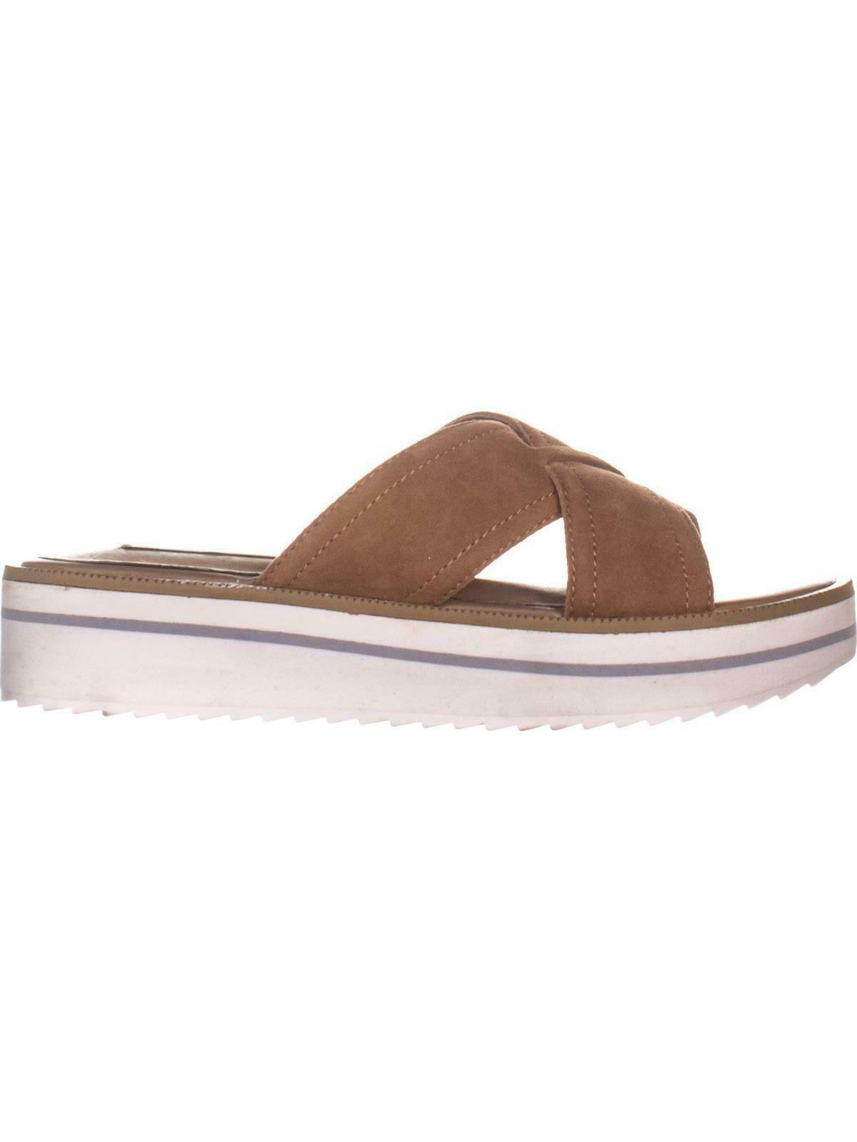 STEVEN Steve Madden Katie Platform Sandals, Sand, 6.5 US