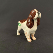 Vintage Beswick Brown And White Crocker Spaniel Dog Figurine England 967 - $74.25