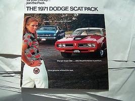 1971 Dodge Charger Super Bee Challenger Demon Hemi 340 383 Owners Sales ... - $49.99
