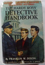 Hardy Boys Detective Handbook 1960A-2 2nd Printing Franklin W. Dixon hcdj - $20.00