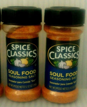 (2) New Spice Classics Soul Food Seasoning Salt 5.12 oz Spices Cooking G... - $19.75