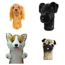 Daphne Golf Driver Headcover. Dog. Fits all Driver Head Sizes. Corgi, Pug,  - $38.63