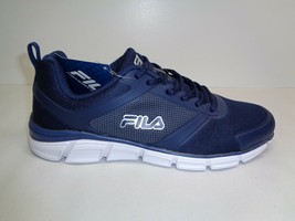 Fila Size 10.5 Memory Steelsprint Blue Training Athletic Sneakers New Mens Shoes - $86.11