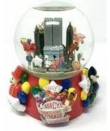 Macys Thanksgiving Jour Parade Neige Globe 75th Anniversaire Monde Commerce - $128.68