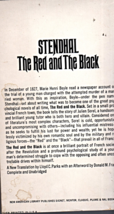 The Red And The Black by Stendhal image 2