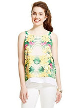 Xoxo Placement Print Drape Neck Top Size M New Msrp $50.00 - $14.99