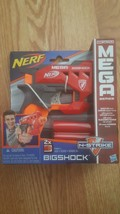 Hasbro NERF N-Strike Mega Bigshock Gun - 2X Mega - NEW - $11.29