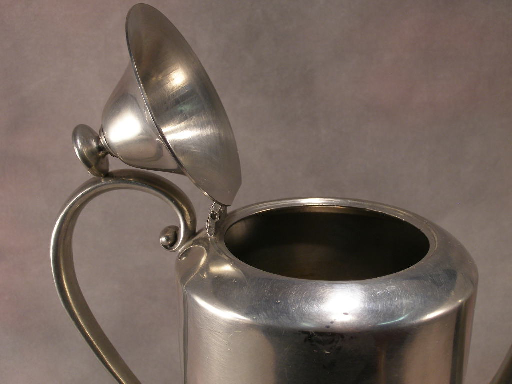 Pewter Coffee Pot By Continental #812 - (sku#1772)