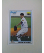 Bowman 2010 Vincent Velasquez Houston Astros 1st card - $1.50
