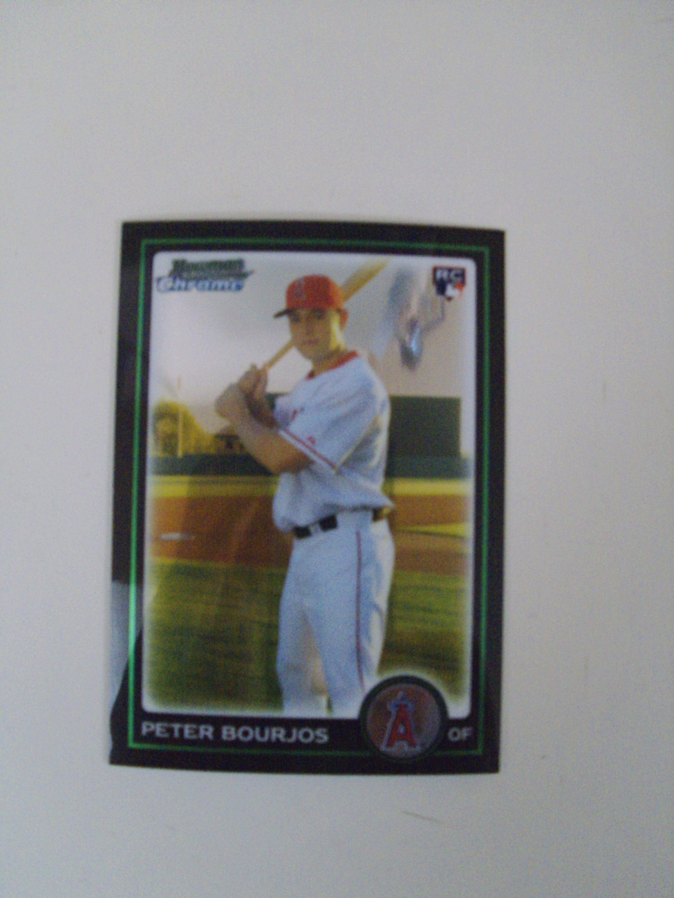 Bowman Chrome 2010 Peter Bourjos Los Angeles Angels RC