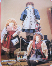 McCalls Crafts 7980 New Doll Clothing 18 inches Sisters Unused - $8.95