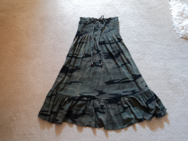No Boundaries Camouflage Halter Dress NWT Size Medium