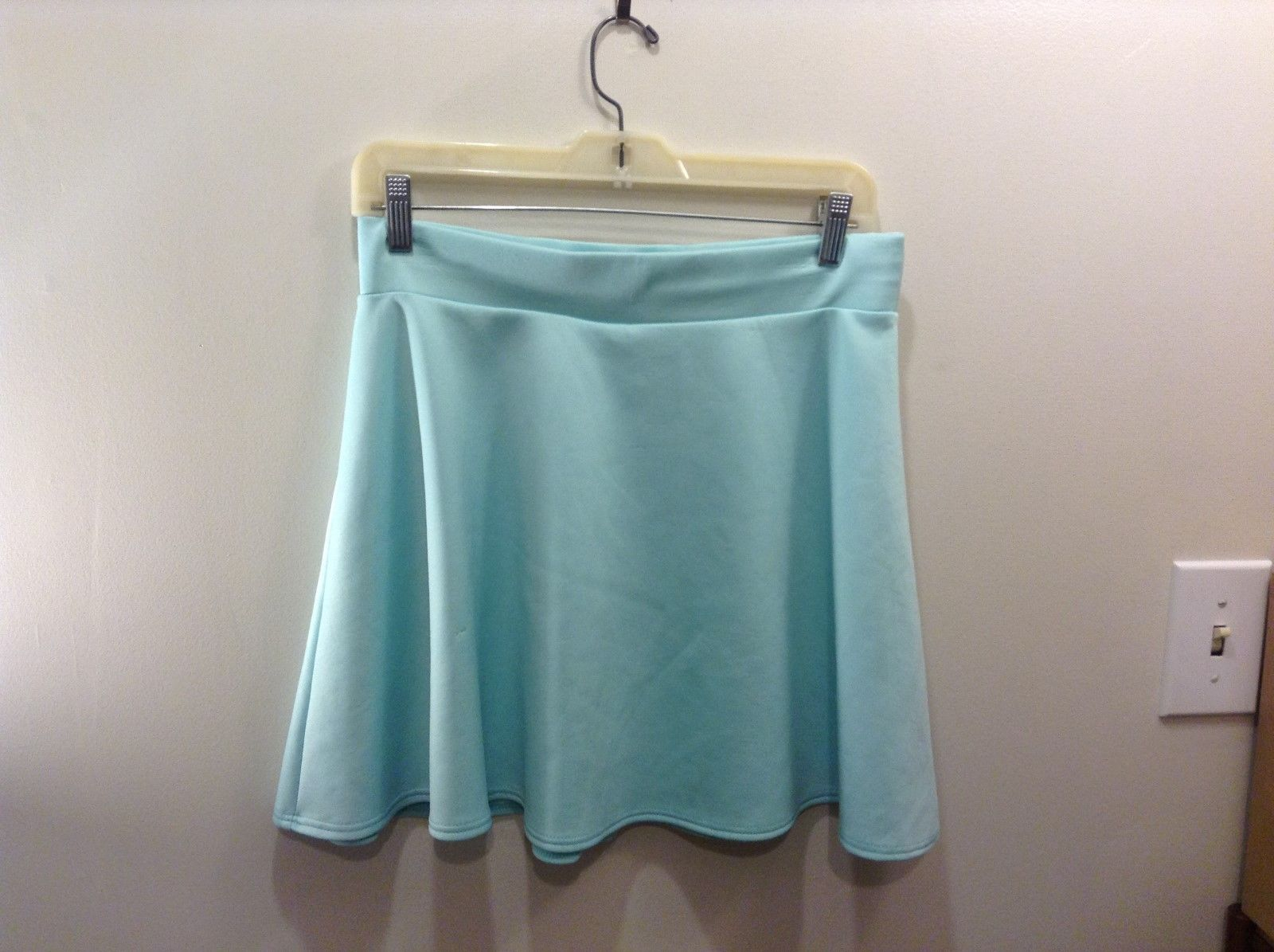 Charlotte Russe Mint Green Skirt Sz L