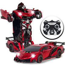 Best Choice Products Kids Toy Transformer RC Robot Car Remote Control Ca... - $49.90