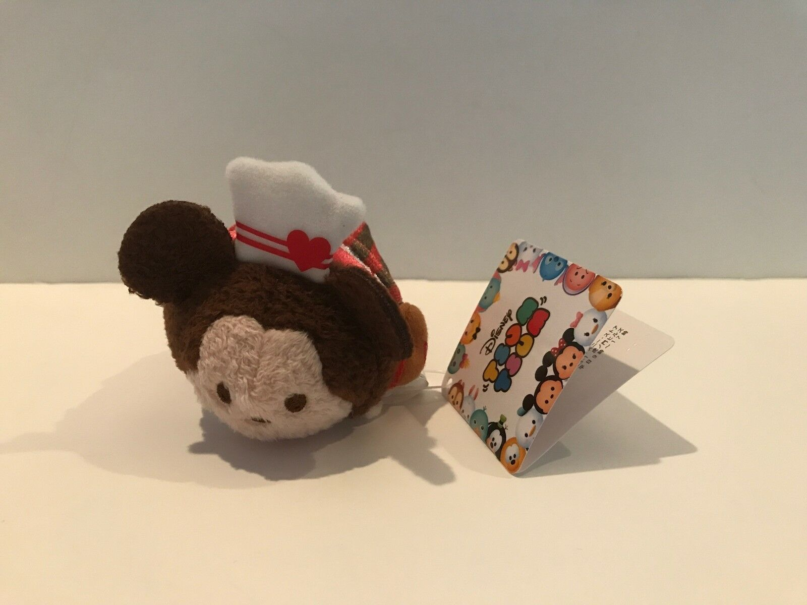 Disney Store Japan Valentine Mickey Mouse Mini Tsum Plush New with Tags
