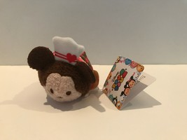 Disney Store Japan Valentine Mickey Mouse Mini Tsum Plush New with Tags - $4.84