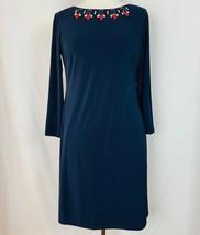 Vince Camuto Size 8 Navy Blue Shift Dress - $33.41