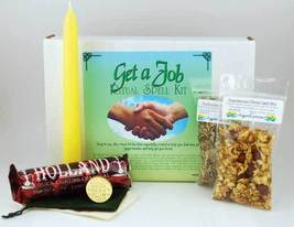 Get A Job Boxed Ritual Kit New Altar Spell New - $29.95