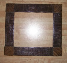 "Brown Grained Madison Frame 1.5"" wide 6.75 x 6 opening cross stitch frame - $29.00"