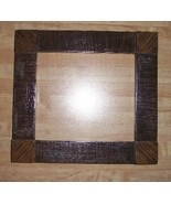 "Brown Grained Madison Frame 1.5"" wide 6.75 x 6 opening cross stitch frame - £23.41 GBP"