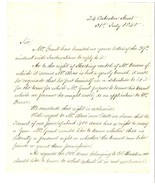 1840 LONDON LETTER ESHAM HOUSE To HENRY EARLE ANDOVER - $62.96