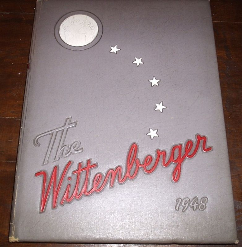 1948 WITTENBERG COLLEGE YEARBOOK Springfield Ohio